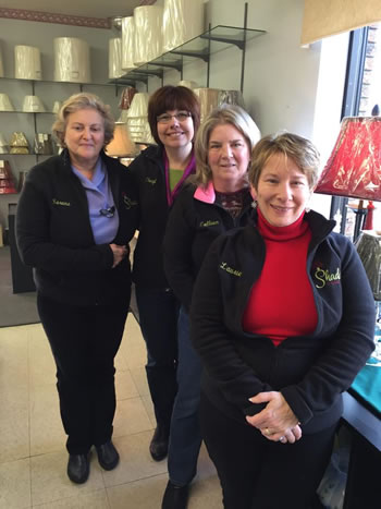 Meet our staff : Laurie, Colleen, Cheryl & Serena