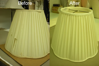 Lampshade recovering lampshade repair lampshade restoration lampshade recovering mozeypictures Gallery